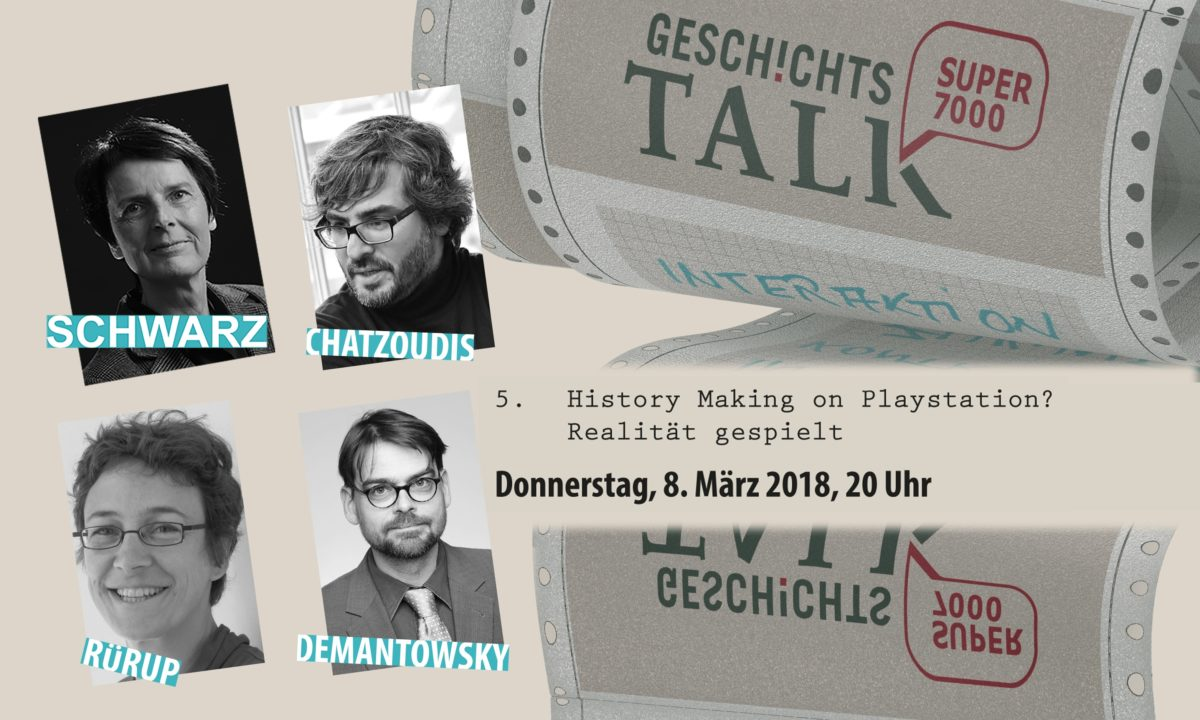 Angela Schwarz, Georgios Chatzoudis, Miriam Rürup, Marko Demantowsky: History Making on Playstation? Realität gespielt